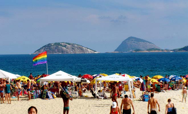 A photo of one of the best gay beaches in the world.