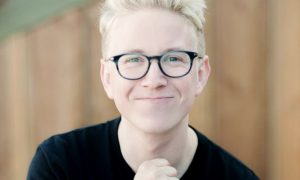 A photo of YouTuber Tyler Oakley.