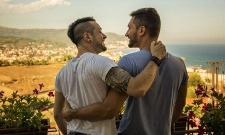 Gay Couple Travelling