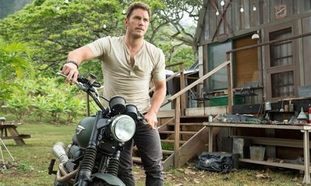A photo of Chris Pratt from 'Jurassic World.'