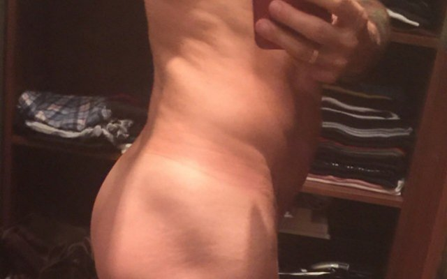A photo of Marc Jacobs sexy selfie.