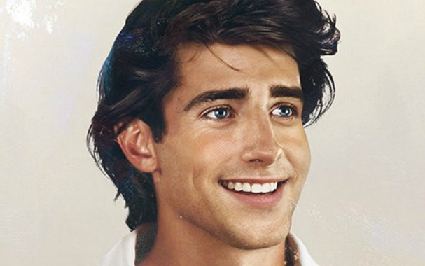 This is a photo of Prince Eric, one of the Disney Princes in real life.