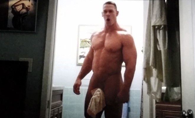 A photo of John Cena naked,