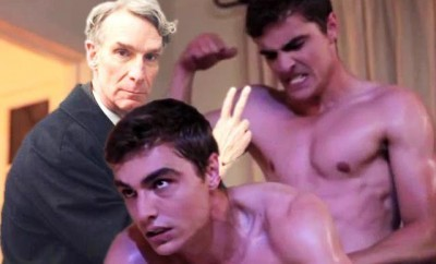 Bill Nye the Science Guy answered an unidentified reader's question about being gay and and evolution.