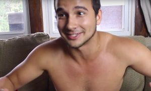 Straight guys react to Andrew Christian underwear.