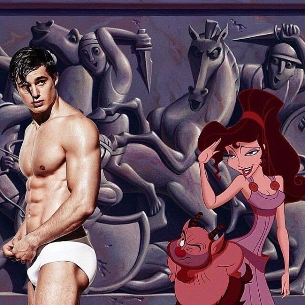 Disney Movies male model 1