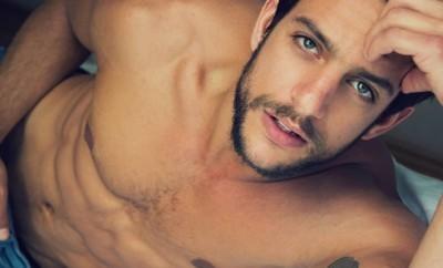 Joaquín Ferreira goes bare for Netflix 'Club de Cuervos'.