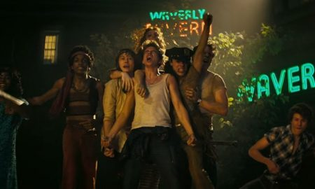 A screenshot from the film Stonewall.