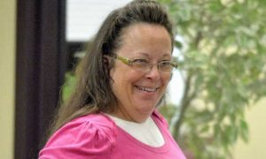 """Anti-Gay Clerk Invokes """"God's Authority"""" and Refuses to Issue Marriage Licenses"""