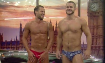 Austin Armacost Strips Down and Asks Housemate for a Massage