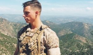 The internet is obsessed with this marine.