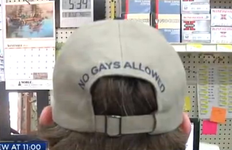 No Gays Allowed hat