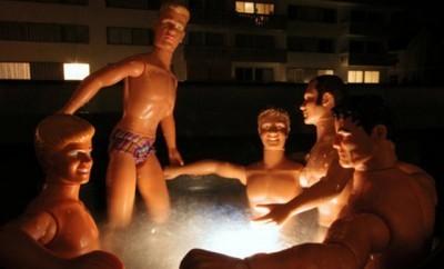 Ken Gets Kinky for Bruce Dean Photoshoot