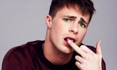 Colton Haynes Halloween Costume Belongs Under the Sea