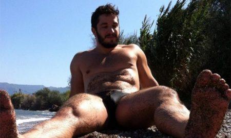 Fitness model Steve Raider.