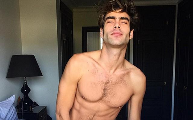 Spanish Stud Jon Kortajarena Hijaked Vogue Hommes Instagram