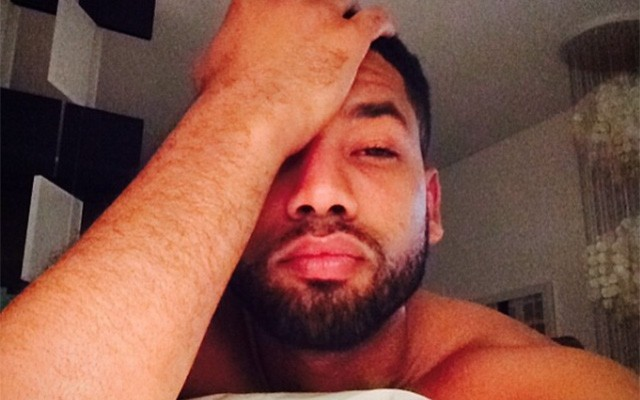 Empire Star Jussie Smollett's is Smoldering in Selfies