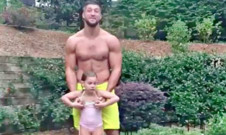 Tim Tebow Shows Off His Ripped Body on Facebook