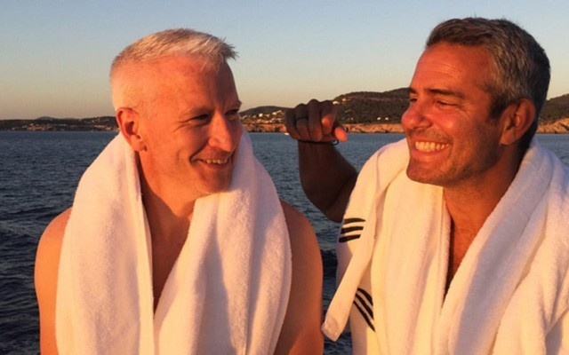 Andy Cohen talks about Anderson Cooper on his show.