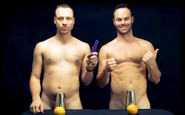 The Naked Magicians Cheeky Illusions Mystify and Mesmerize