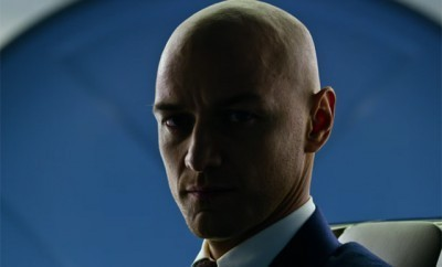 This is a photo of James McAvoy as Professor X.