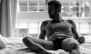 A photo of ANTM winner Nyle DiMarco.