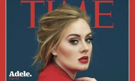 This is the Adele cover for 'Time Magazine.'