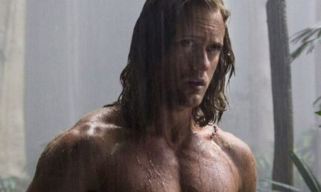This is a photo of Alexander Skarsgard as Tarzan.