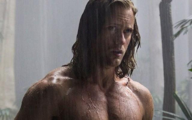 This is a photo of Alexander Skarsgard as Tarzan.