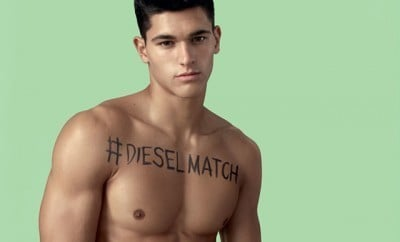 This is a photo from Diesel's new advertising campaign.