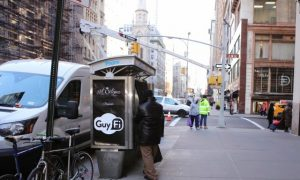 GuyFi Booth opens in NYC