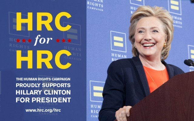 HRC endorses Hillary Clinton for president