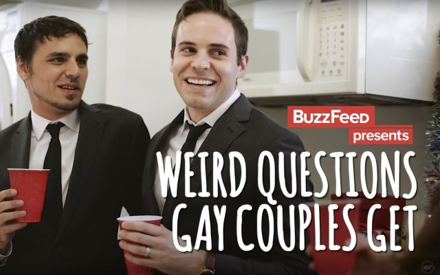 Weird Questions Gay Couples Get