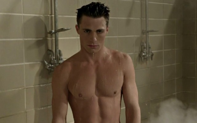 This is a photo of Colton Haynes on MTV's 'Teen Wolf.'