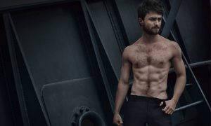 This is a photo of Daniel Radcliffe for 'Vanity Fair Italia'.