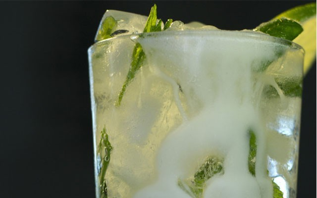 This is a photo of a 'Macho Mojito.'
