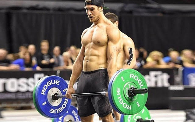 This is a photo of Khan Porter, a CrossFit competitor, who posted a video dancing to 'Single Ladies.'
