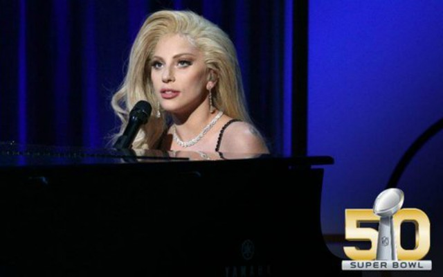 Lady Gaga to sing The National Anthem at Super Bowl 50