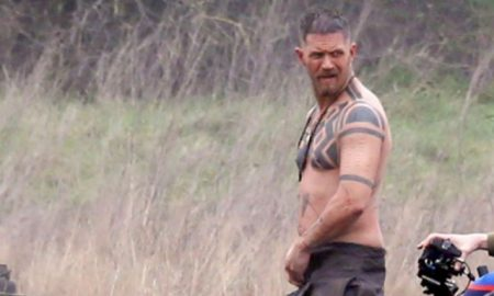 Tom Hardy strips down for new role