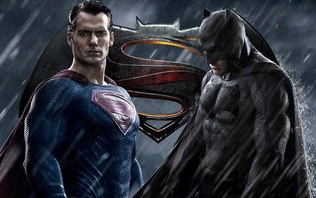 This is a photo from the upcoming 'Batman v Superman: Dawn of Justice' film.