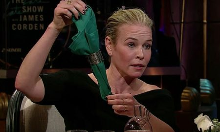 This is a photo of Chelsea Handler from The Late Late Show.