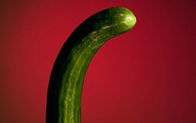 This is a photo of a cucumber.