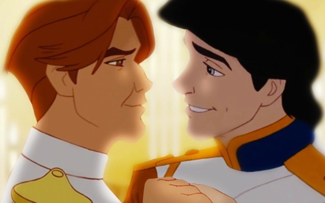This is a photo of a Disney princes.