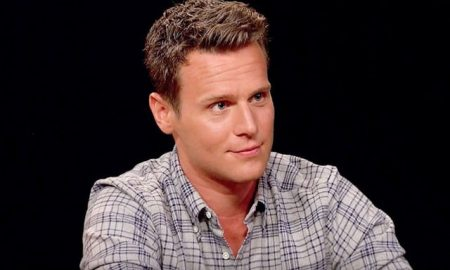 This is a photo of Jonathan Groff from HBO's 'Looking'.
