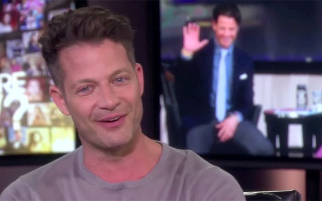 This is a photo of Nate Berkus during his Oprah interview.