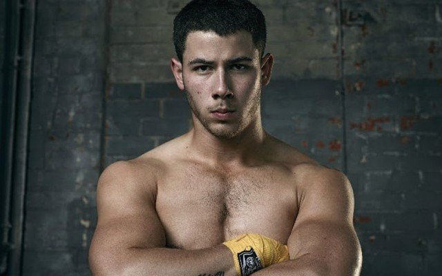 This is a photo of Nick Jonas from 'Kingdom.'