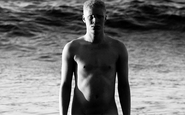 This is a photo of Shaun Ross in the 'Dust' music video.