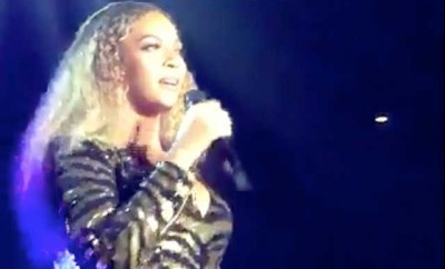 Beyoncé covers 'I WIll Always Love You' for charity.