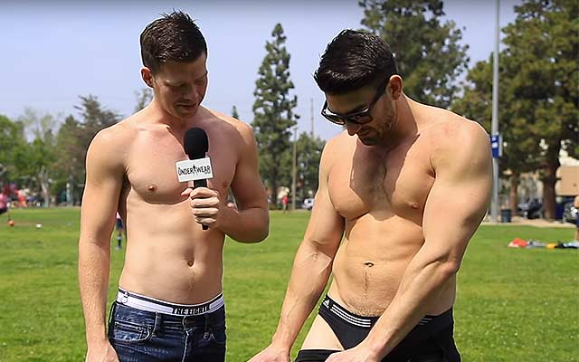 Gay kickball players answer classic question: boxers or briefs?