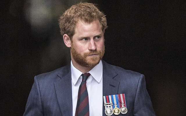 This is a photo of Prince Harry of Wales.